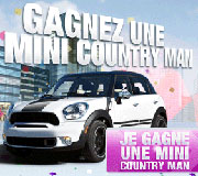 Gagnez une Mini Country Man
